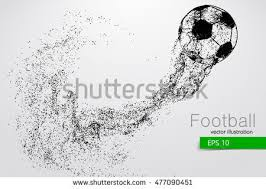free soccer ball vector background download free vector art