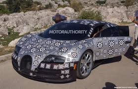 bugatti supercar bugatti veyron successor to do 0 60 mph in 2 0 seconds report