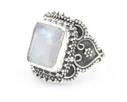 wiccan engagement rings boheme moonstone ring sterling silver moonstone ring