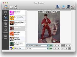 Meme Generator For Mac - create an intertubes sensation with meme generator mac appstorm