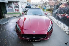 maserati wrapped vilner shows off maserati grancabrio sport project