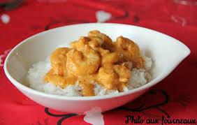 cuisiner crevette recette de crevettes au curry au thermomix
