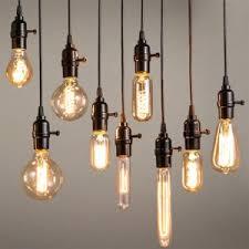 Vintage Light Bulb Pendant Lighting Traditional Edison Light Fixtures For Your Home Lighting