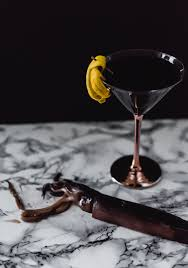 martini grasshopper 3 spooky squid ink cocktails craft and cocktails