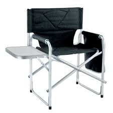 Folding Directors Chair With Side Table Great Folding Directors Chair With Side Table Aluminum Side