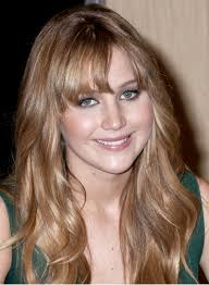 brunette hairstyles wiyh swept away bangs long hairstyles with highlights and bangs beauty riot