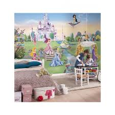 disney princess castle photo wall mural 368 x 254 cm