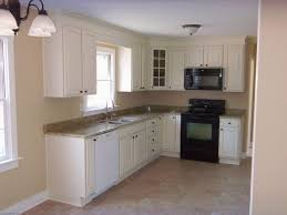 Small L Shaped Kitchen Designs With Island L Shaped Kitchen Ideas Small Designs With Island Beige Solid Wood