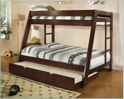 Double Deck Bed With Cabinet Bedroom And Living Room Image - Twin over full bunk bed canada