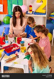 children painting drawing kids club image u0026 photo bigstock