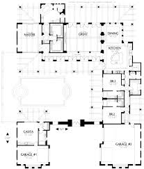 house plans with courtyard mediterranean magnificent home