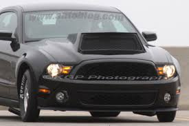 ford mustang scoops ford mustang dragster mule brandishing