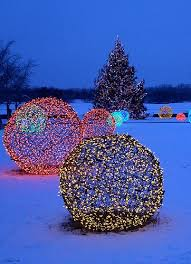 Outdoor Christmas Lights Decorations Christmas Light Spheres Diy Christmas Light Decoration Ideas