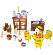 collection of vintage doll house kitchen furniture ebth
