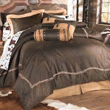 Western Duvet Covers Western Bedding Chocolate Barbed Wire Bedding Collection Lone