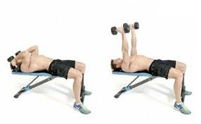 Flat Bench Dumbbell What Is The Most Brutal Tricep Workout Exercise Quora