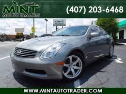 2004 Infiniti G35 Coupe Interior Used Infiniti G35 Coupe For Sale Search 212 Used G35 Coupe