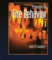 principles of fire behavior james g quintiere 9780827377325