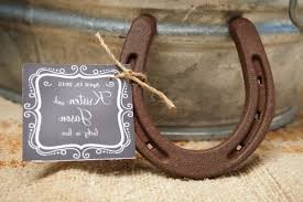 horseshoe wedding favors say i do to these fab 51 rustic wedding decorations horseshoe