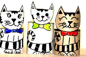 Animal Toilet Paper Holder by Crafts With Toilet Paper Rolls Toilet Paper Roll Crafts Cats Of
