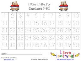 all worksheets number tracing worksheets 1 10 printable