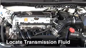 2009 honda accord transmission fluid change add transmission fluid 2008 2012 honda accord 2009 honda accord