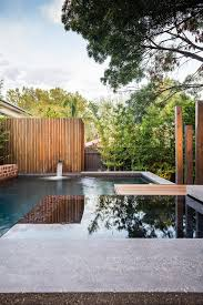 exteriors sensational traditional small pool design with green