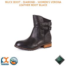 s muck boots australia muck boot s verona leather boot black vrn 000