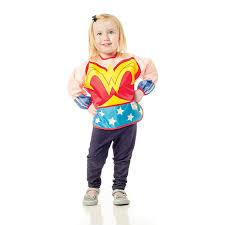 infant costume woman blue infant costume sleeved bib superheroden