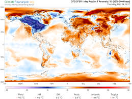 Map Snap Usa Trump Thinks Climate Change Isn U0027t Real Because It U0027s Cold Out This