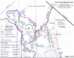 100 Acre Wood Map Hiking In Maine With Kelley 10 21 13 Perch Pond Trails