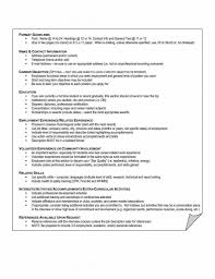 Resume Skills List Example Resume Hobbies Examples