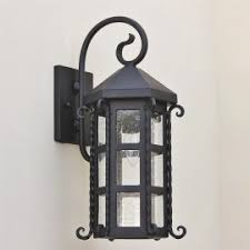 Spanish Style Sconces Spanish Wall Light With Hacienda Triple Style Sconces Forja