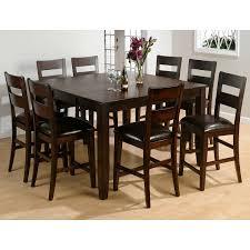 9 piece dining table set karimbilal net jofran rustic prairie 9 piece counter height dining set dining table sets at hayneedle