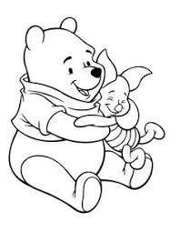 big disney piglet winnie pooh coloring pages coloring