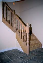Oak Stair Banister Handrail And Staircase Picture Gallery Finishing Touches Toronto