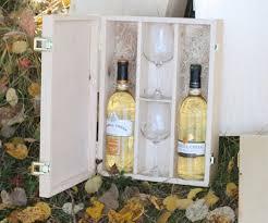 wine box wedding ceremony custom wood wine box with glasses weddingwinebox woodwinebox