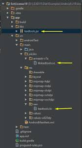 android license setting your license with leadtools for android studio project