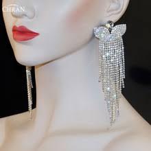 Long Chandelier Earrings Dangle Earrings Buy Chandelier Earrings Silver And Get Free Shipping On Aliexpress Com