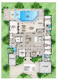 coastal florida mediterranean house plan 75976 level one the