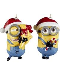 deals on despicable me minions dave carl santa hats
