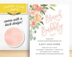 bridal shower brunch invite bridal shower brunch etsy