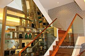 alana review propertyguru singapore the staircase eschews normal bannisters for class panels but maintains a modern looking wood rail the glass keeps the space light and airy