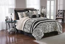Zebra Print Duvet Cover The Great Find 8 Piece Zebra Print Bedding Set