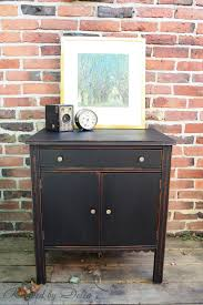 Painting Furniture Black by Painting Old Furniture For Adding New Life