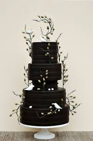different wedding cakes 30 boldly different and chic black wedding cakes weddingomania
