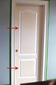 Interior Doors And Trim Painting Trim And The Way We Paint Interior Doors Bower Power