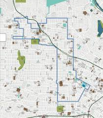Los Angeles Street Map by Los Angeles Promise Zone Youth Policy Institute