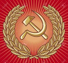 Sickle Russian Flag Symbol Of Ussr Hammer Sickle And Laurel Wreath Ussr Sign