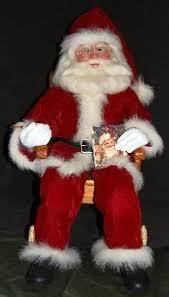 Santa Claus Dolls Handmade - santa claus handmade sculpted santa dolls by burr santa